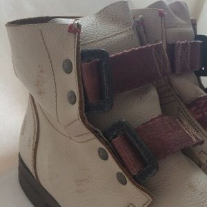 Fly London Shoes - FLY London Distressed Motorcycle Boots - RARE!!!!